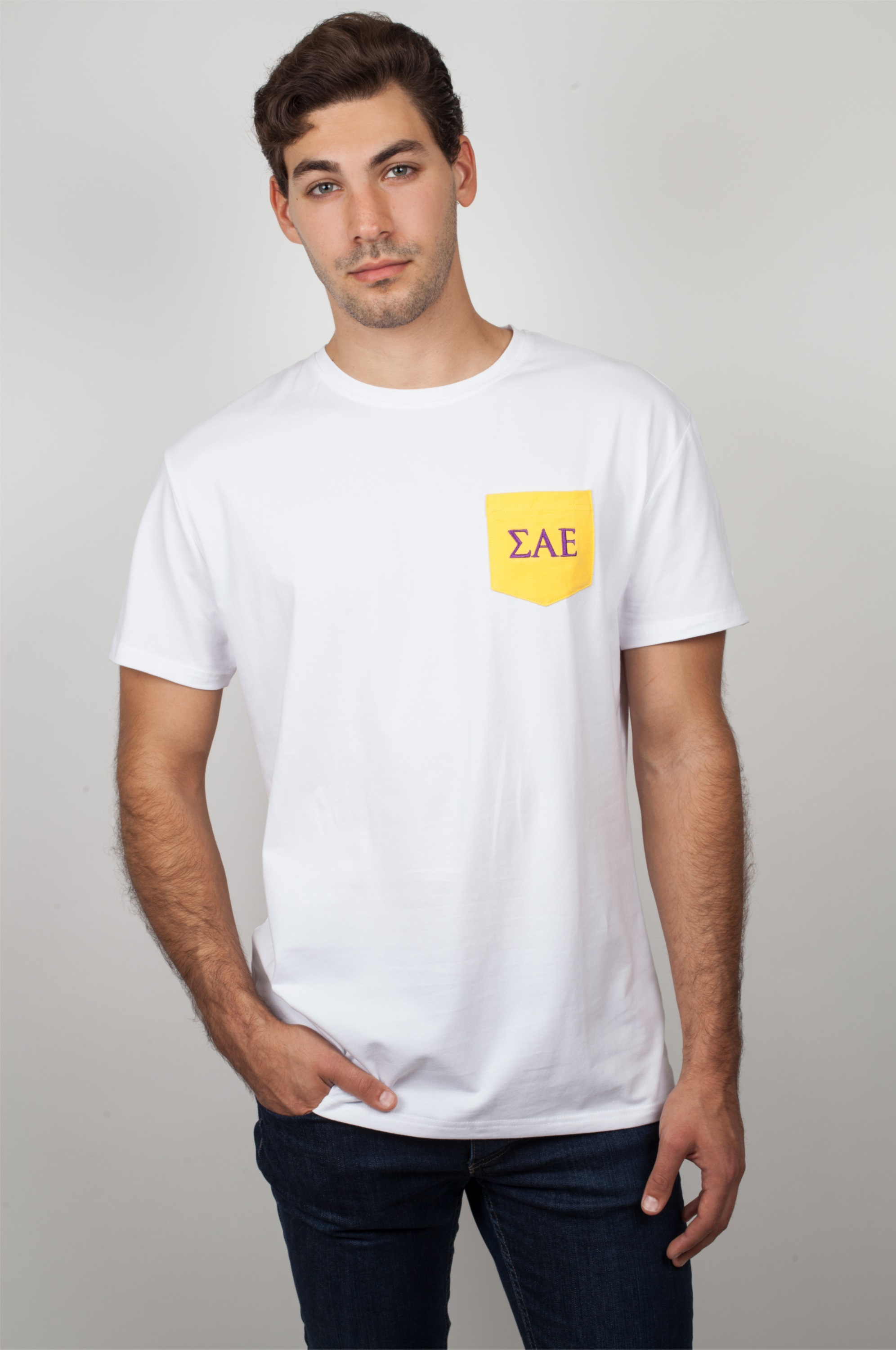 SAE Clothing. We know how important it is to look your best as a Sigma Alpha Epsilon. Campus Classics has the best SAE t-shirts, tanks, sweatshirts, and jackets to fit in any style!
